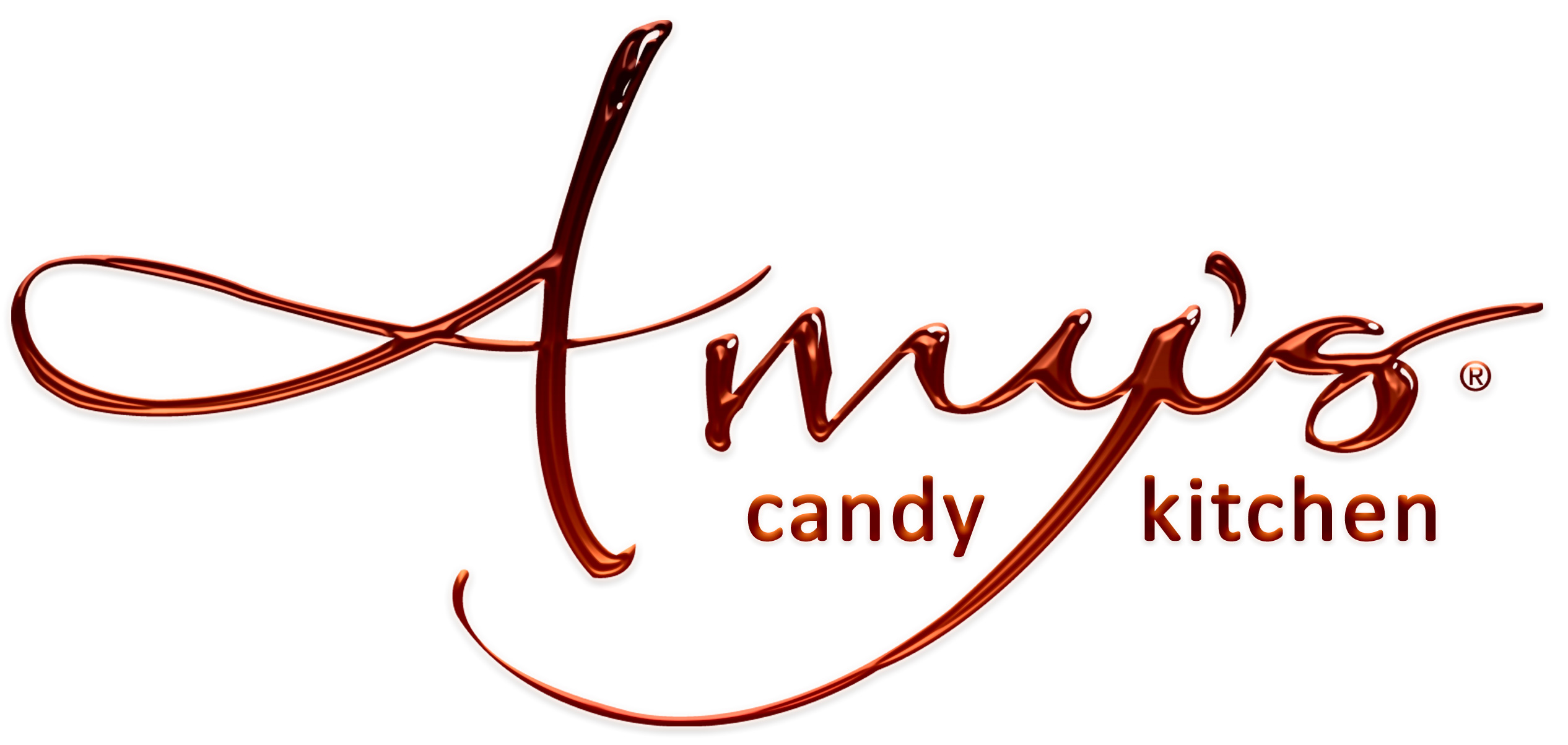 Amy's Candy Kitchen logo