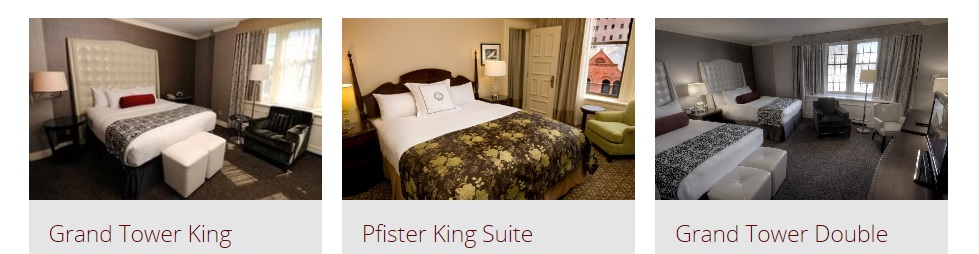 Pfister Hotel Room Block